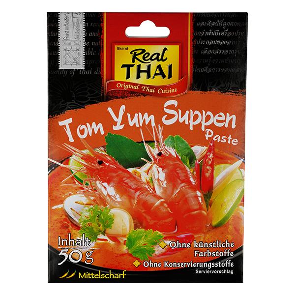 Real Thai Tom Yum Soup Paste 50g